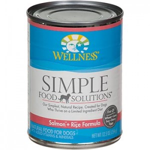 Wellness Simple Food Solutions Canned Dog Food (3 Flavors)
