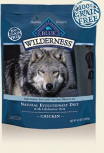 Blue Wilderness Chicken Recipe for Dogs- Grain Free