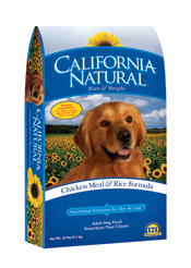 California Natural Chicken Meal & Rice-- Adult Dog Food