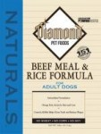 Diamond Naturals- Beef Meal & Rice Adult Dog Formula