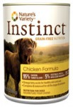 Nature's Variety Instinct-- Canned Chicken Formula for Dogs