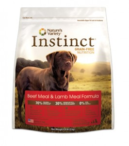 Nature's Variety Instinct- Beef & Lamb Meal Formula for Dogs