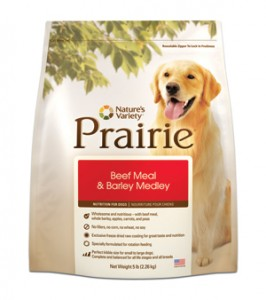 Nature's Variety Prairie- Beef Meal & Barley Medley for Dogs