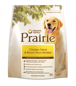 Nature's Variety Prairie- Chicken Meal & Brown Rice for Dogs