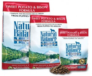 Natural Balance L.I.D. Sweet Potato & Bison Grain-Free