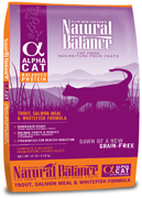 Natural Balance Alpha Trout, Salmon Meal & Whitefish Formula