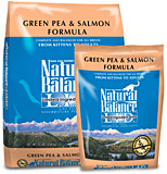 Natural Balance L.I.D. Green Pea & Salmon Formula - No Grain