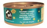 Solid Gold- Gourmet Chicken, Turkey & White Fish Canned Cat Food for All Life Stages
