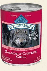 Blue Wilderness- Canned Salmon & Chicken Grill