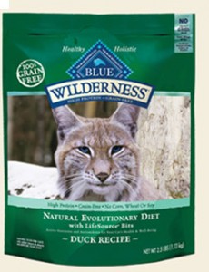 Blue Wilderness Duck Recipe for Cats