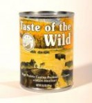 Taste of the Wild - Canned High Prairie Canine Formula