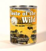 Taste of the Wild- Canned High Prairie Canine Formula in Gravy
