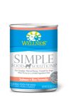Wellness Simple Food Solutions- Canned Food for Dogs (3 Flavors)