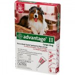 Advantage II Flea Control For Dogs and Puppies