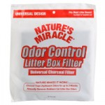 Nature's Miracle - Odor Control Litter Box Filter