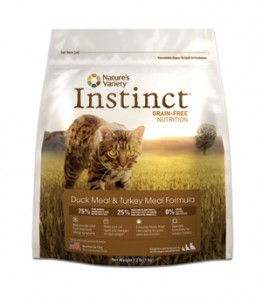 Nature's Variety Instinct Duck and Turkey Meal Formula Dry Cat Food