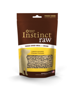 Nature's Variety Instinct Raw Freeze Dried Dog Food Meal or Mixer