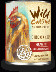 Wild Calling Chicken Coop 96% Grain-Free Canned Dog Food