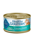BLUE Buffalo Healthy Gourmet Meaty Morsels Adult Canned Cat Food