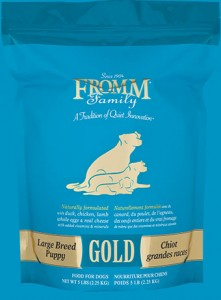 Fromm– Large Breed Puppy Gold